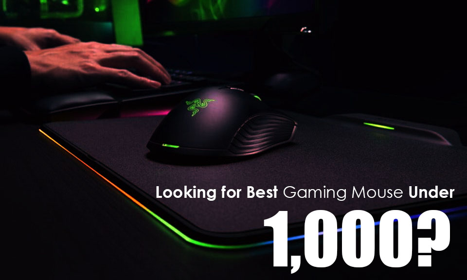 Best Gaming Mouse Under 1000 INR