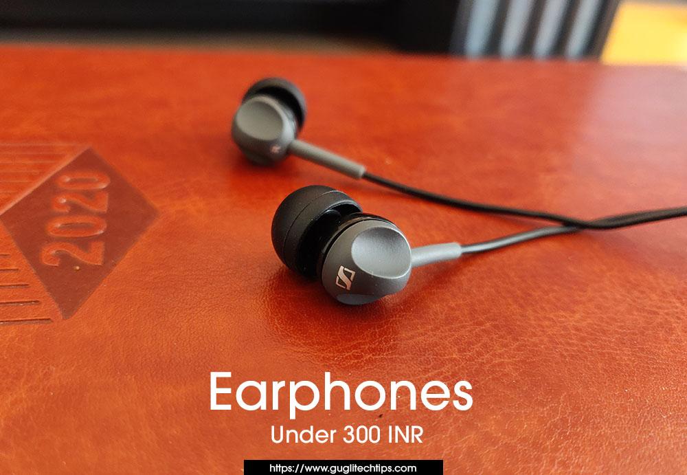 Best Earphones Under 300 INR
