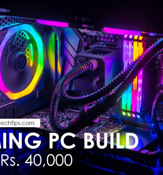 Gaming PC Build Under 40000 INR