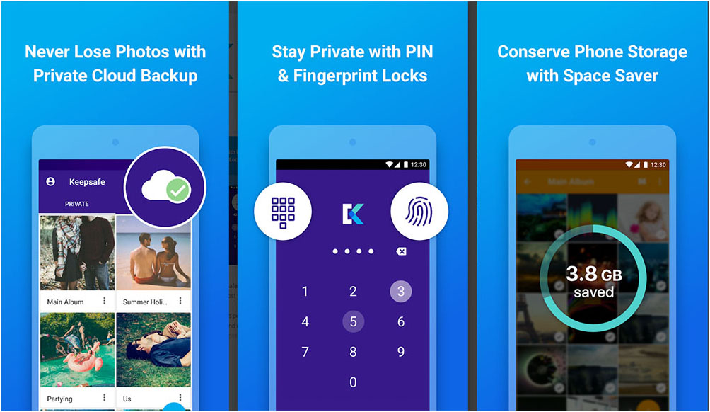 Keepsafe - Best Photo Hide Apps for Android