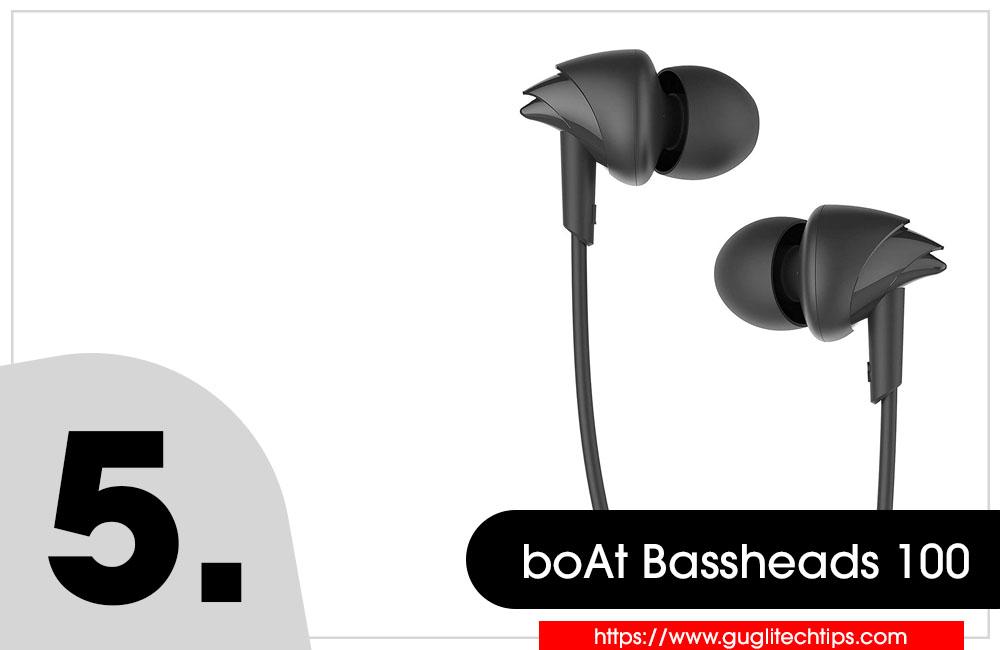 boAt Bassheads 100