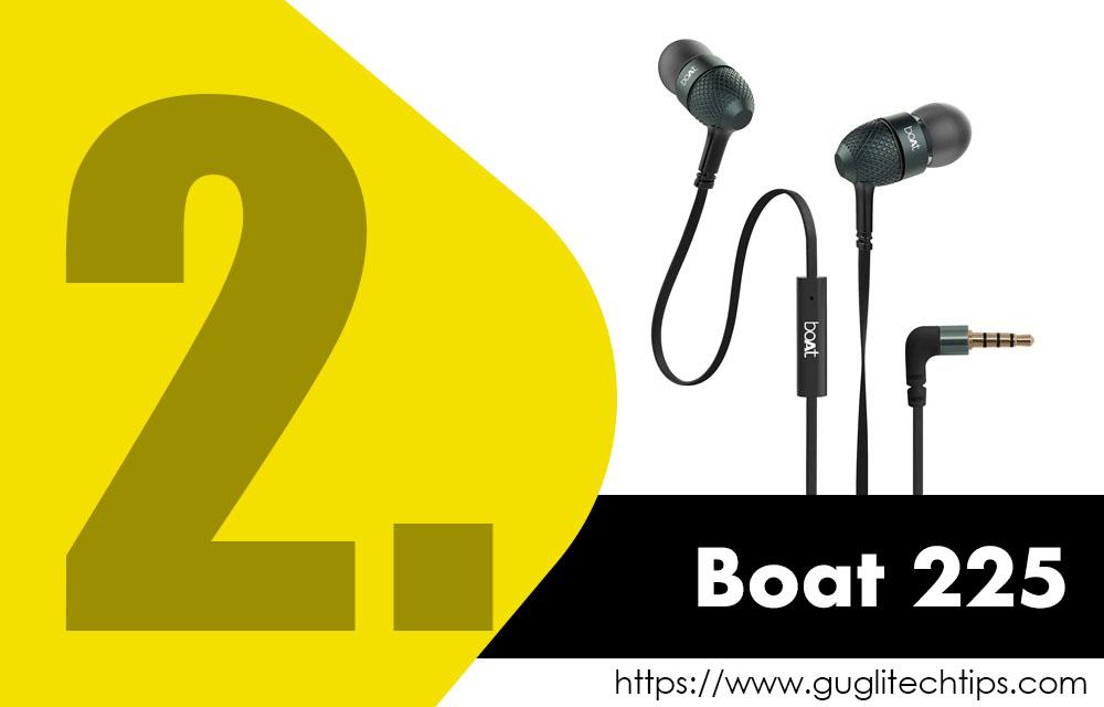 Boat Basshead 225 Earphones