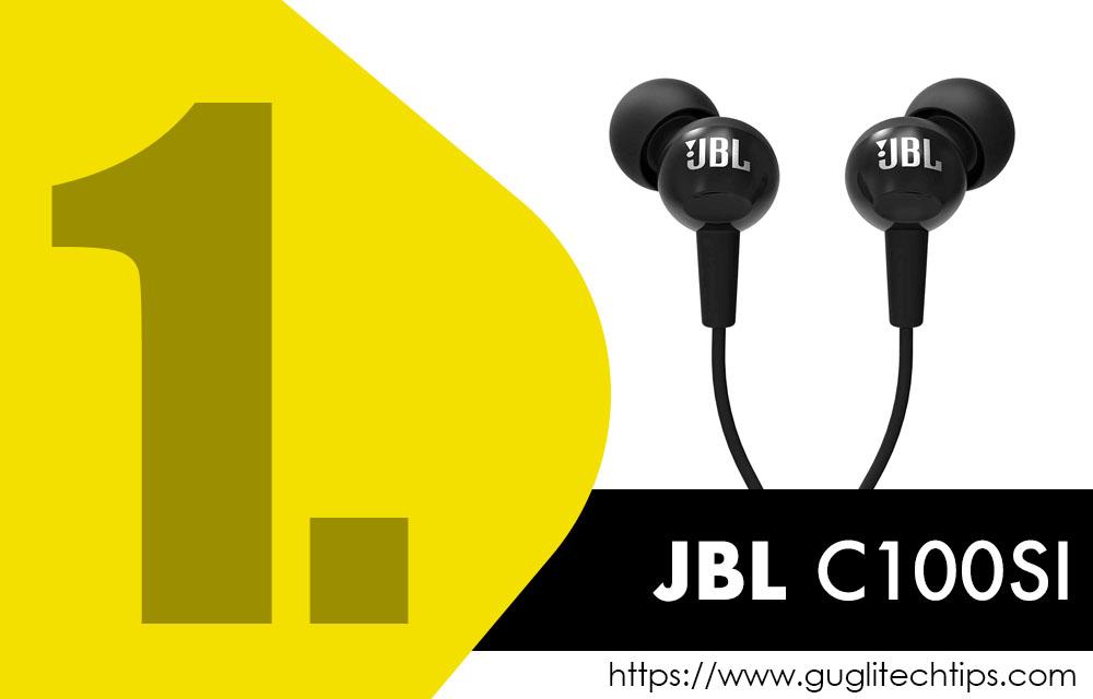 JBL C100Si Earphones